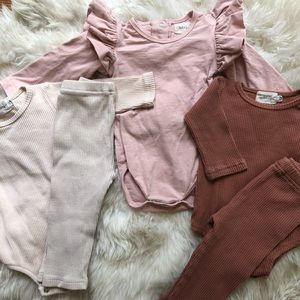 •KNOTTED FERN• 3-6 month baby basics lot.